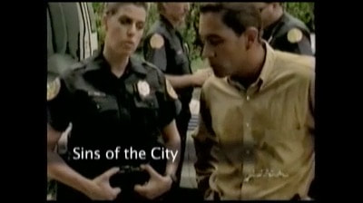 Deb Snyder cop television show Sins of the City